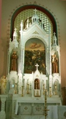 St. Fidelis Catholic Church Altar image. Click for full size.