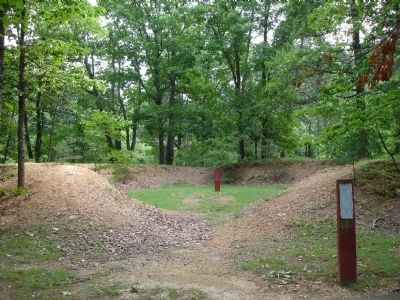 Freedom Hill Redoubt image. Click for full size.