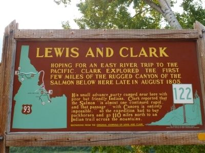 Lewis and Clark Marker Photo, Click for full size