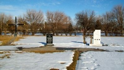 Hall County Veterans Memorial Park image. Click for full size.