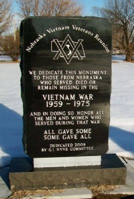 Vietnam War Memorial Monument image. Click for full size.