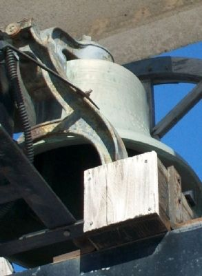 St. Bernard Catholic Church Bell image. Click for full size.