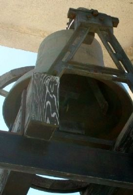 Sacred Heart Catholic Church Bell image. Click for full size.