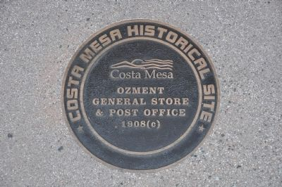 Ozment General Store & Post Office Marker image. Click for full size.