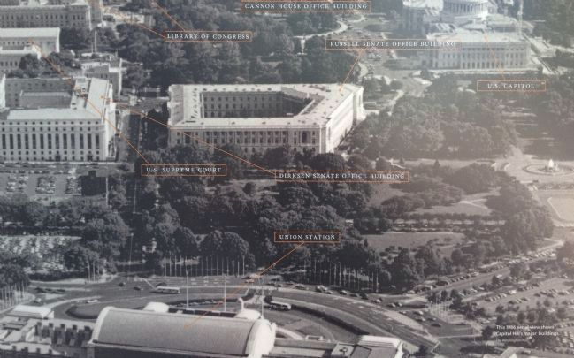 Capitol Hill's major buildings Photo, Click for full size