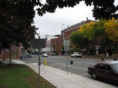 Downtown Greenfield Photo, Click for full size