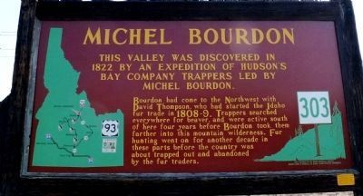 Michel Bourdon Marker image. Click for full size.
