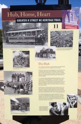 The Hub Marker Photo, Click for full size