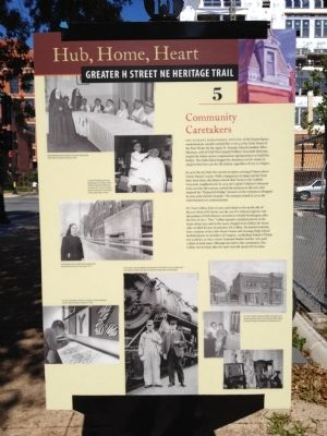 Community Caretakers Marker Photo, Click for full size
