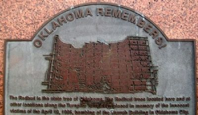 Murrah Federal Building Bombing Marker image. Click for full size.