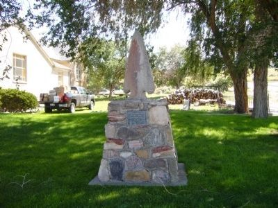 Old Spanish Trail Monument Photo, Click for full size