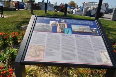 Mary Ferrazzali Park Marker Photo, Click for full size
