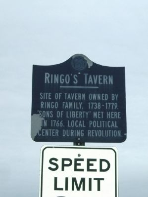 Ringo's Tavern Marker Photo, Click for full size