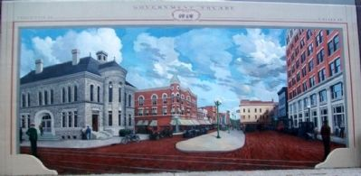 Government Square, 1919, Mural image. Click for full size.