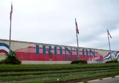 City of Ironton Marker image. Click for full size.