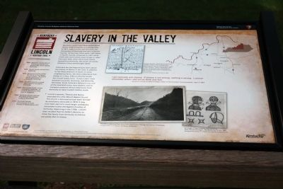 Slavery in the Valley Marker image. Click for full size.