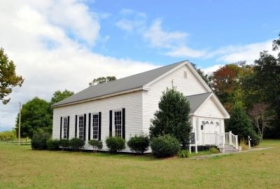 Historic Liberty Cumberland Presbyterian Church image. Click for full size.