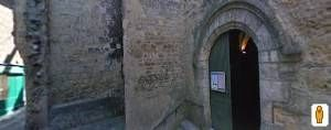 La collégiale Saint Etienne Marker image. Click for full size.