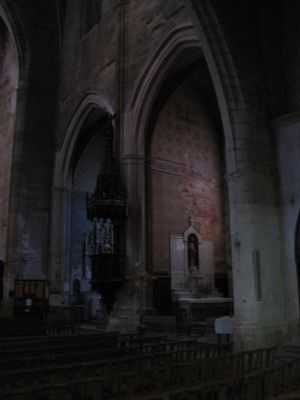 Interior of the Church of Saint Etienne image. Click for full size.