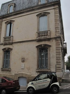 La maison Lignon Marker Photo, Click for full size