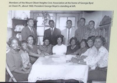 Mount Olivet Heights Civic Association Photo, Click for full size