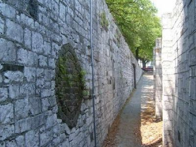 Old Retaining Wall Photo, Click for full size