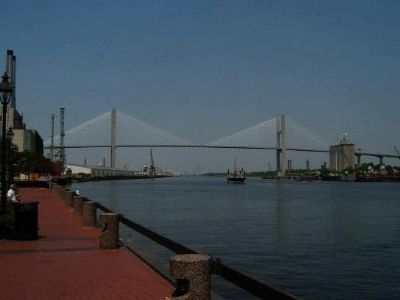 Savannah River Bridge image. Click for full size.
