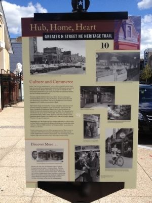 Culture and Commerce Marker Photo, Click for full size