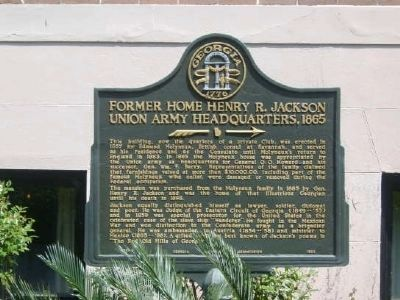 Former Home of Henry R. Jackson Marker image. Click for full size.
