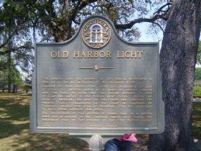 Old Harbor Light Marker Photo, Click for full size