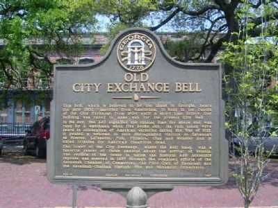Old City Exchange Bell Marker image. Click for full size.