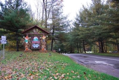 Idlewild Park Entrance sign image. Click for full size.