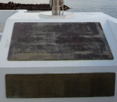 USS Utah Memorial Marker Photo, Click for full size