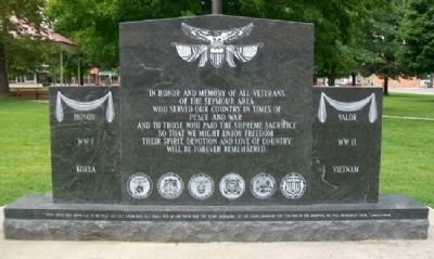 Veterans Memorial (Side A) image. Click for full size.