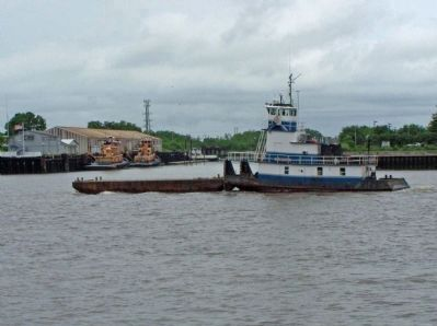 Savannah Waterfront, working tugs Photo, Click for full size