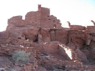 Pueblo Ruins Photo, Click for full size