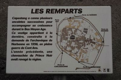 Les Remparts Marker image. Click for full size.