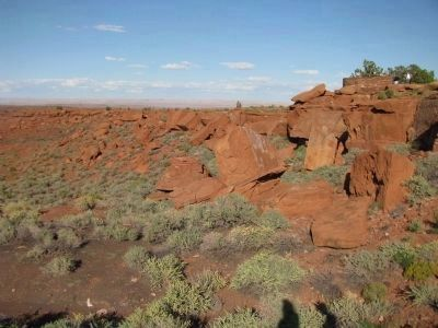Huge Sandstone Boulders Photo, Click for full size