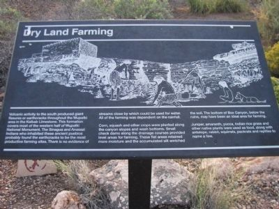Dry Land Farming Marker Photo, Click for full size