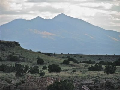 San Francisco Peaks~Mt. Humphreys Photo, Click for full size
