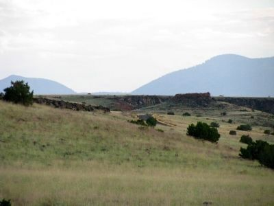 Sunset Crater Volcano~Citadel Ruins Photo, Click for full size