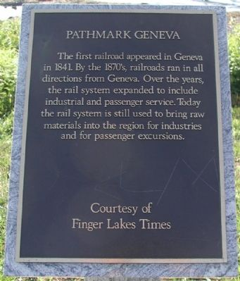 Pathmark Geneva Marker Photo, Click for full size