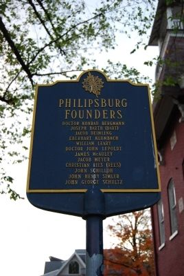 Philipsburg Founders Sign image. Click for full size.