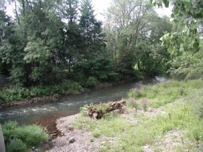 Conewango Creek west of marker Photo, Click for full size