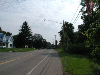 Evelynn M. Crandall Marker as seen facing east Photo, Click for full size