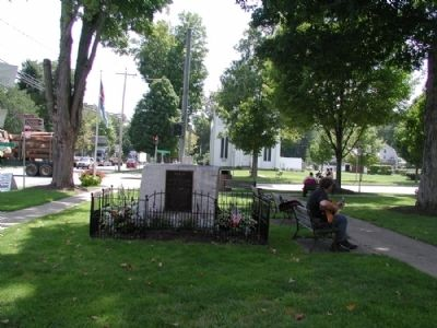 In Memory of Those From Ellicottville Marker image. Click for full size.