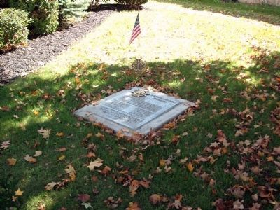 Other View - - Warren County Patriots Marker image. Click for full size.