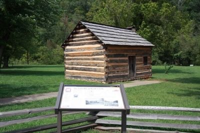 Full View - - The Lincolns at Knob Creek Marker image. Click for full size.