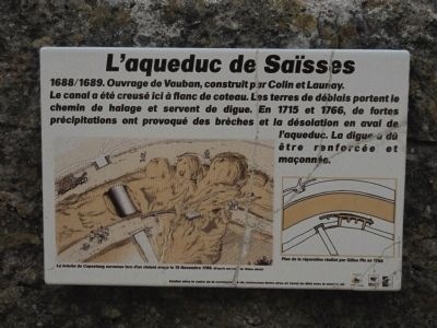 L�aqueduc de Sa�sses Marker Photo, Click for full size