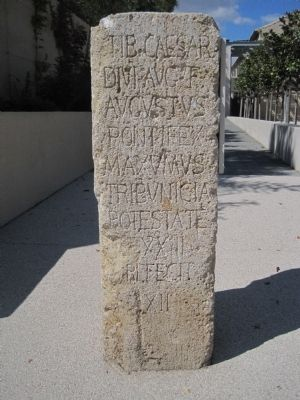 [Roman Milepost] Marker Photo, Click for full size